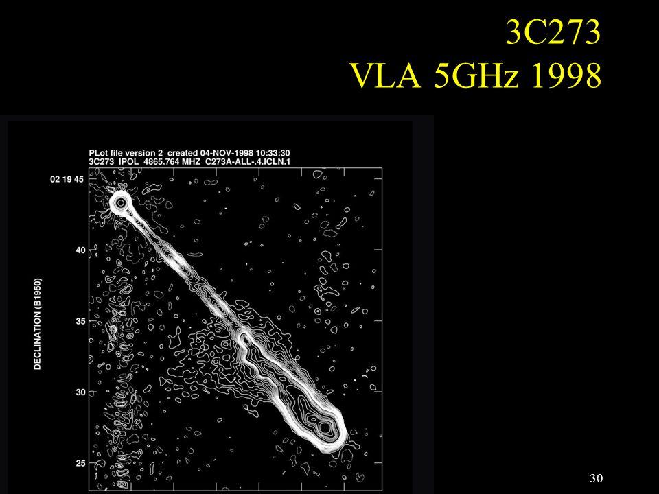 3C273 VLA 5GHz 1998 30