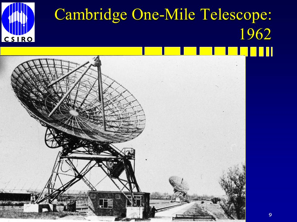 9 Cambridge One-Mile Telescope: 1962
