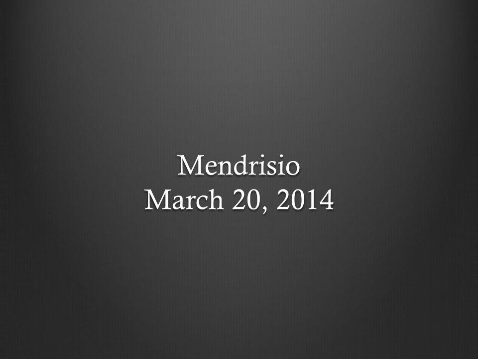 Mendrisio March 20, 2014