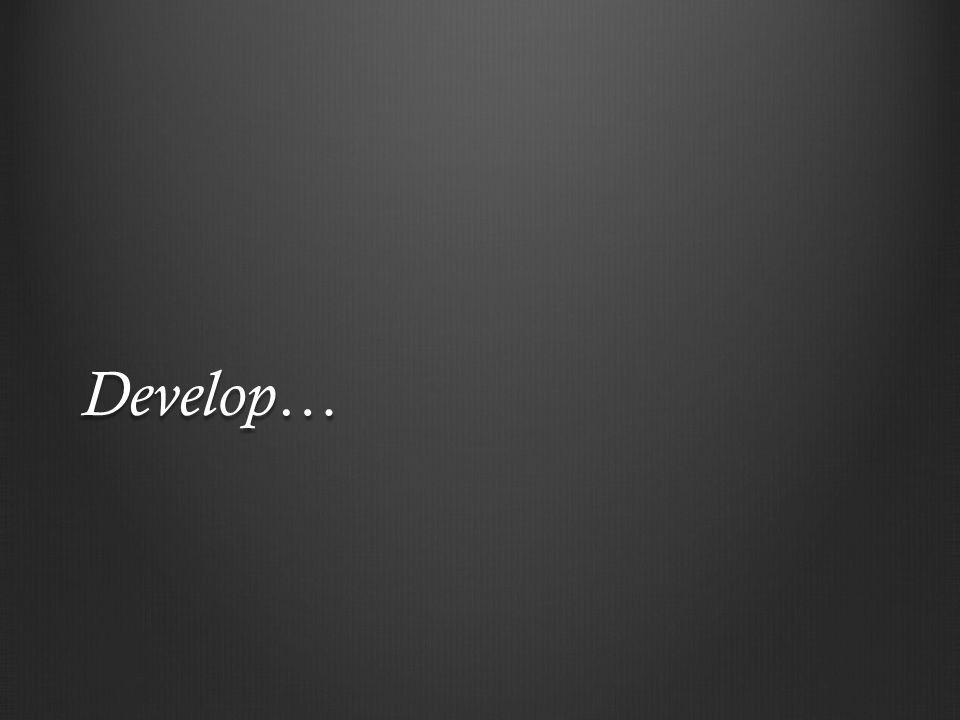 Develop…