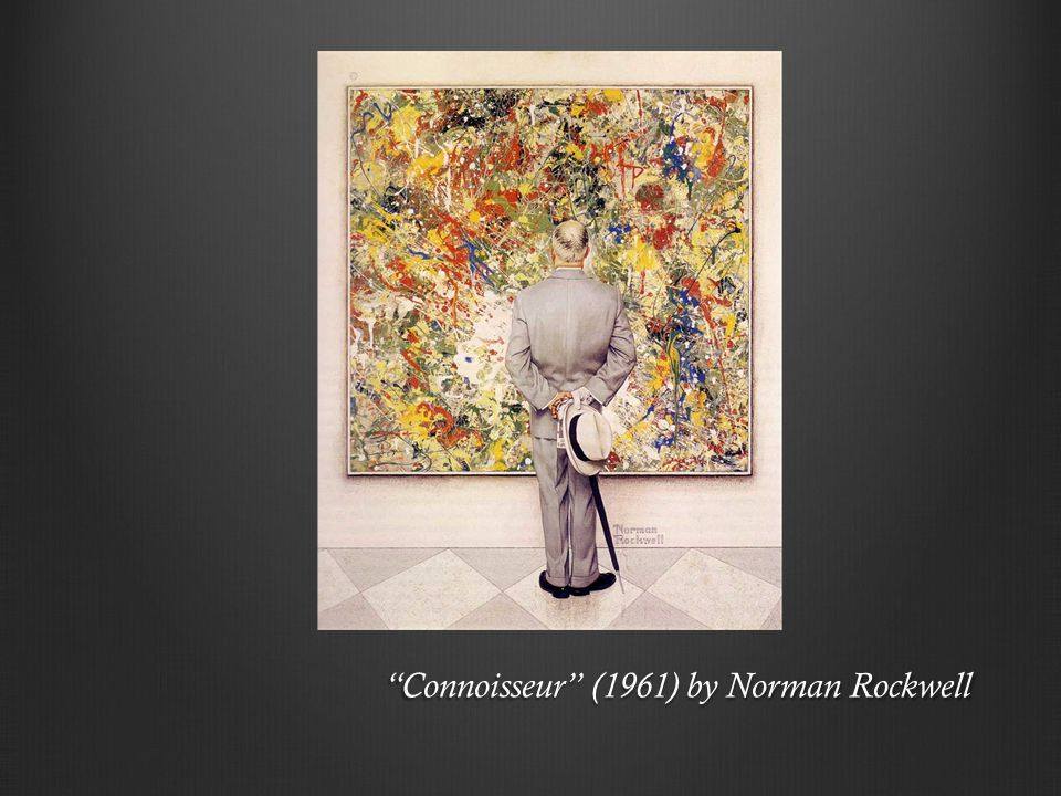 Connoisseur (1961) by Norman Rockwell