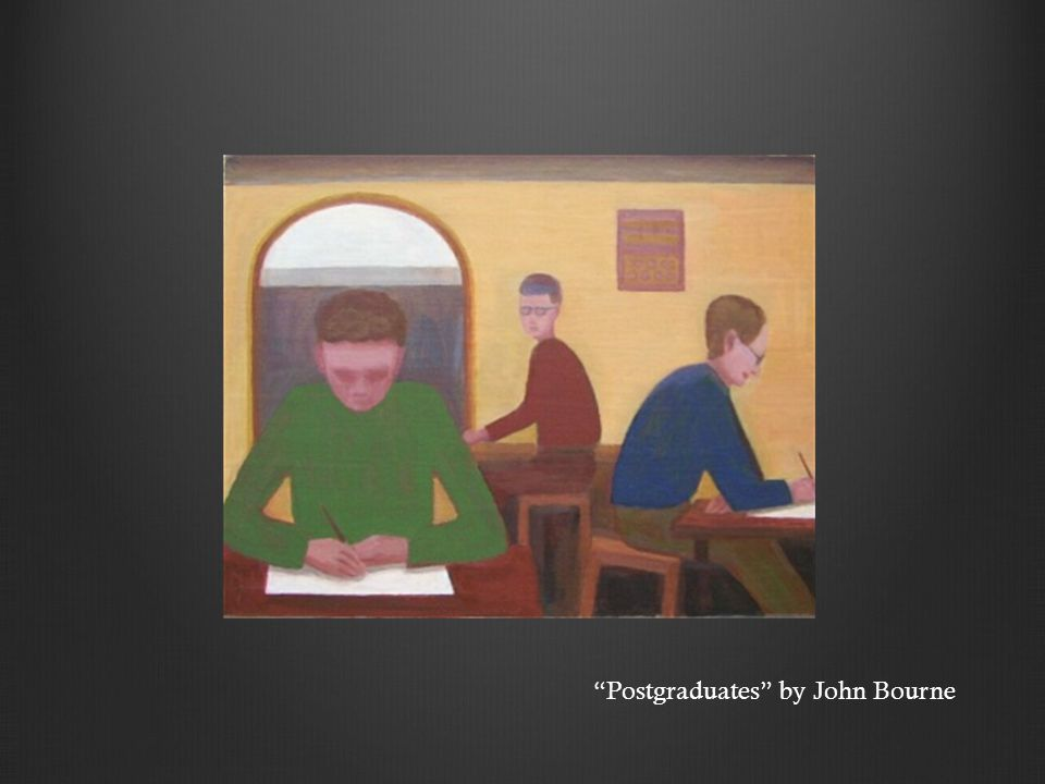 Postgraduates by John Bourne