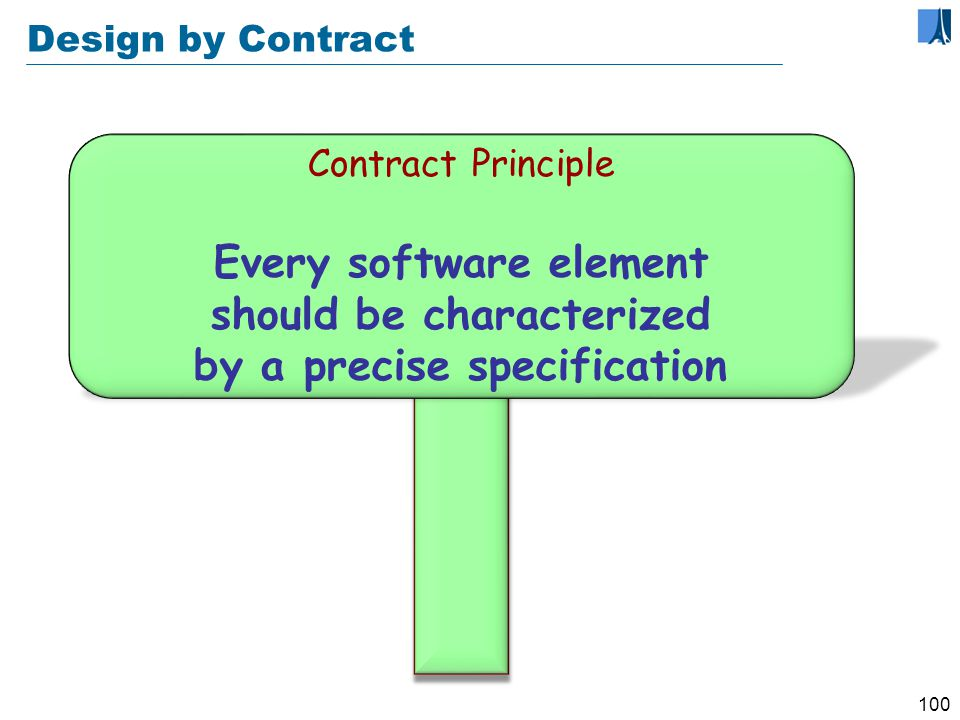 99 - 4 - Design by Contract