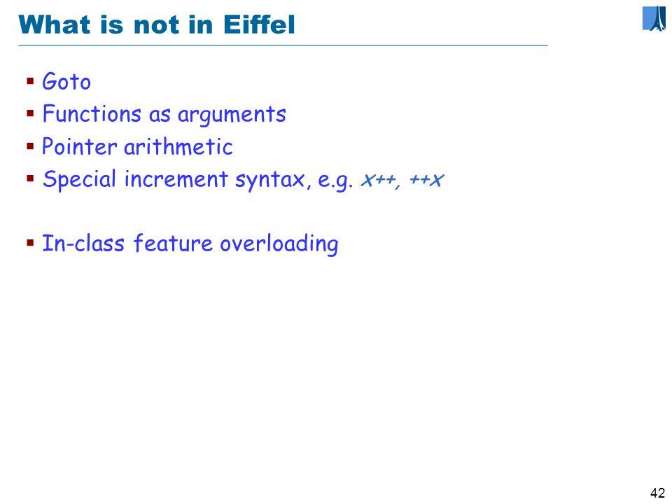 41 Eiffel mechanisms Classes, objects,...