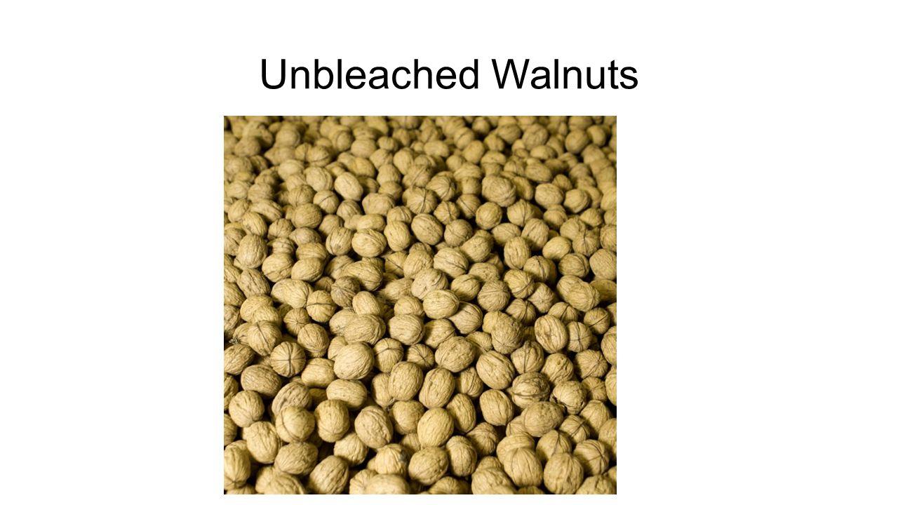 Unbleached Walnuts