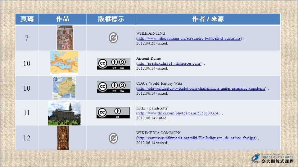 35 / 7 WIKIPAINTING (http://www.wikipaintings.org/en/sandro-botticelli/st-augustine) http://www.wikipaintings.org/en/sandro-botticelli/st-augustine 2012.04.25 visited.