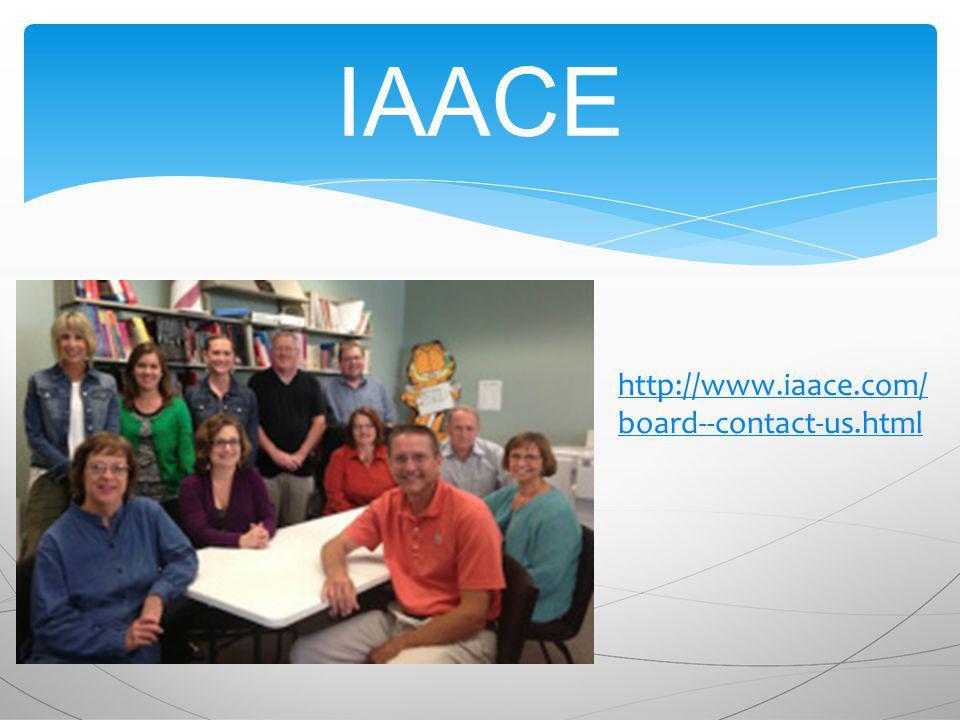 IAACE http://www.iaace.com/ board--contact-us.html