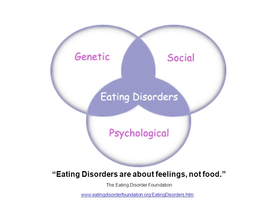 www.eatingdisorderfoundation.org/EatingDisorders.htm Eating Disorders are about feelings, not food.