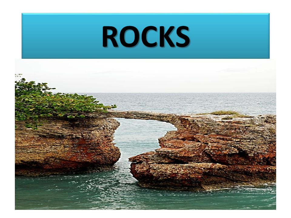 USES OF ROCKS 1.Source of minerals e.g.