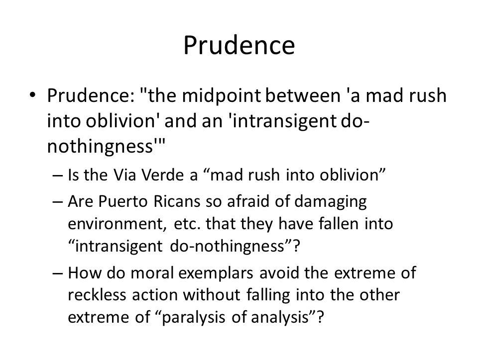Prudence Prudence: