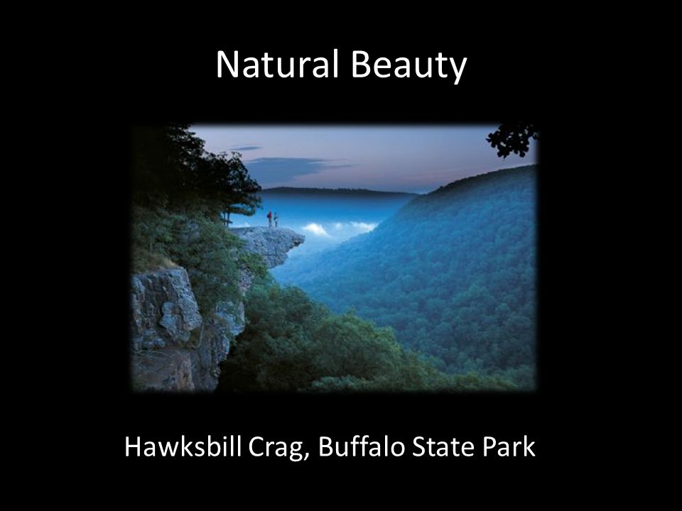 Natural Beauty Hawksbill Crag, Buffalo State Park