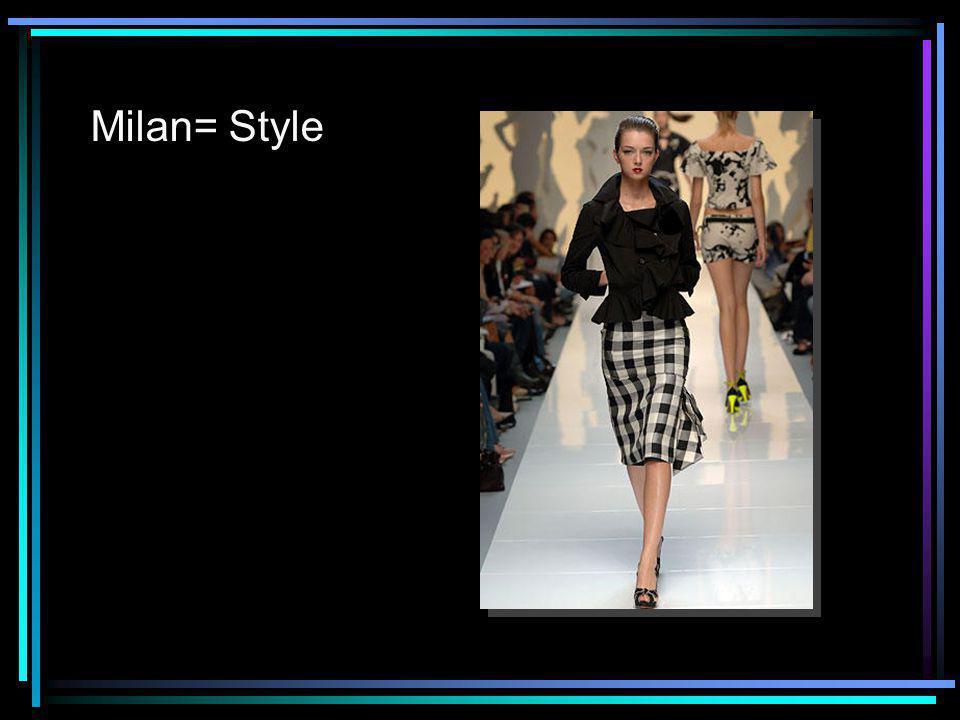 Milan= Style