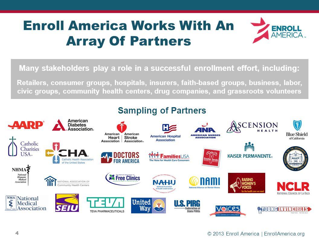© 2013 Enroll America | EnrollAmerica.org CUSTOMIZING YOUR MESSAGE HELPS