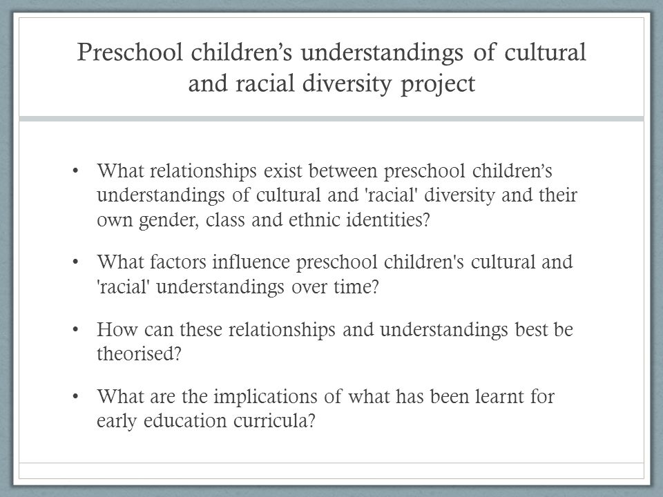 Conceptual understandings of children Children are competent meaning makers who have valid and important knowledge about their worlds.