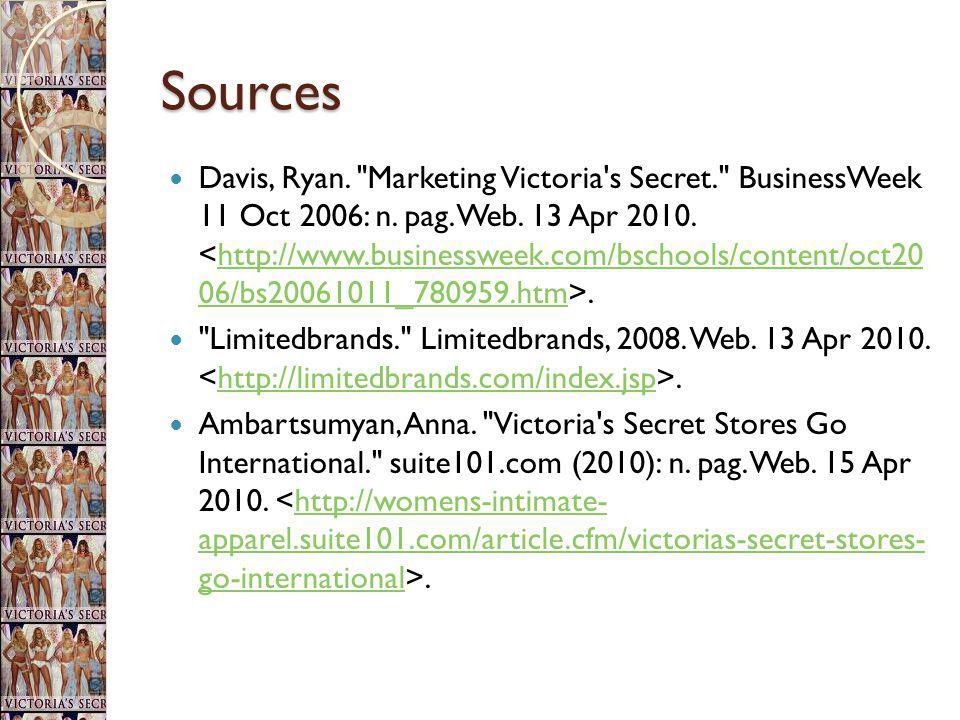 Sources Davis, Ryan.