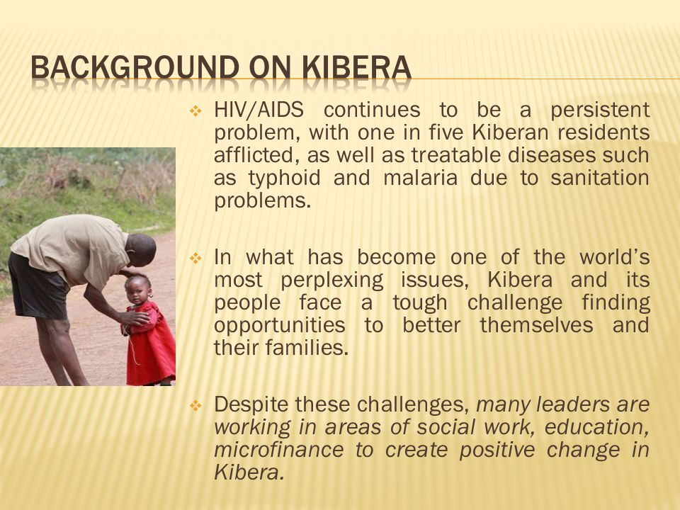 After returning to the US from a May 2009 tour of Kibera, Kenya, Jenn Karaffa Pae, Patrick Magee, and Katie Smith sought to create an organization that could continue to assist existing non- profit entities within Kibera already excelling in their socio- economic endeavors.
