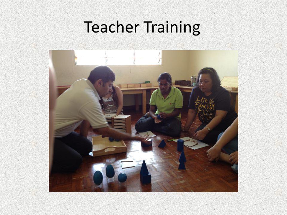 Workshop Program 1.The Philosophy of Montessori 2.Child Development 3.