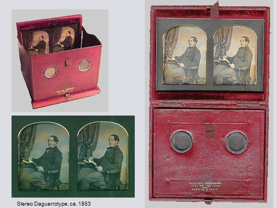 Stereo Daguerrotype, ca. 1853