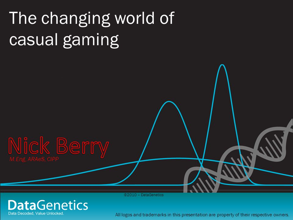 ©2010 – DataGenetics Comparing Demographic Genes 80.89% correlation