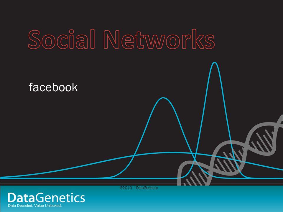 ©2010 – DataGenetics facebook