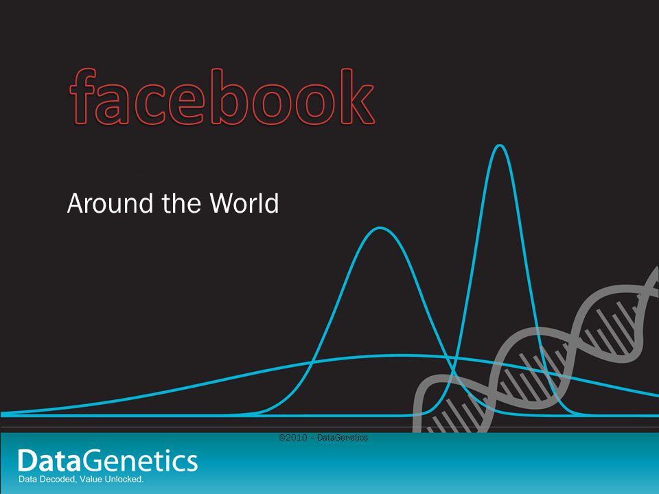 ©2010 – DataGenetics Around the World