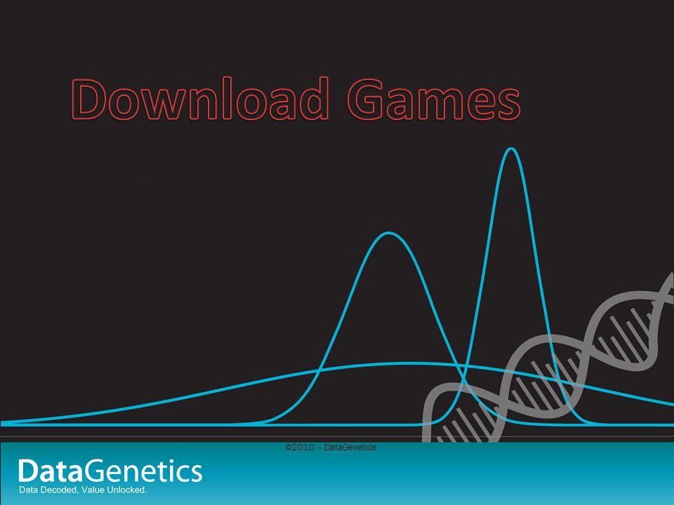 ©2010 – DataGenetics
