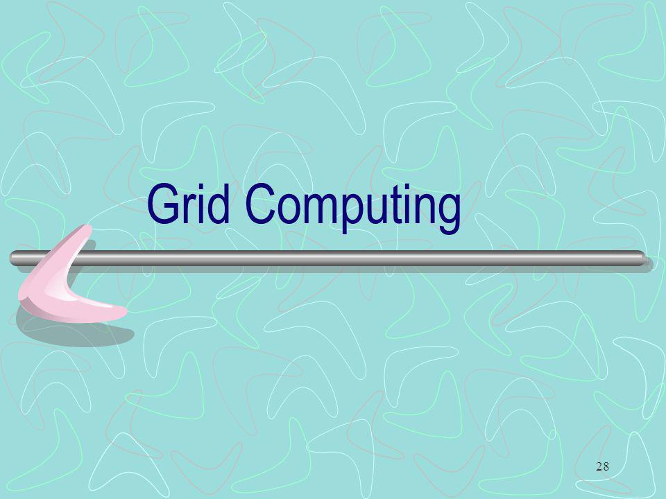 28 Grid Computing
