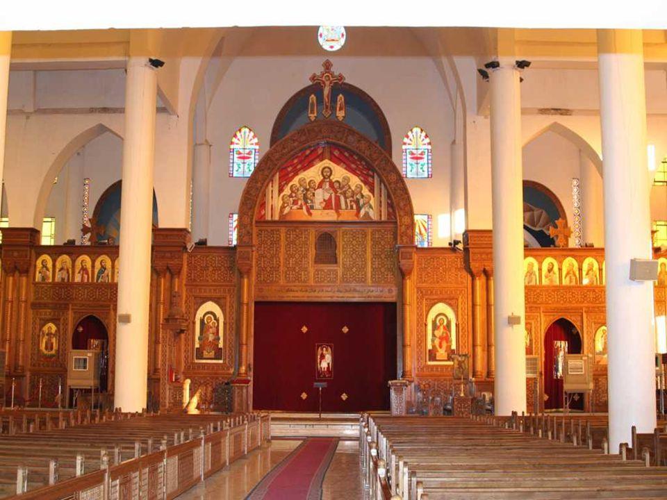 Large Coptic Church - Aswan