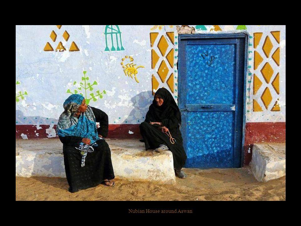 Nubian House around aswan