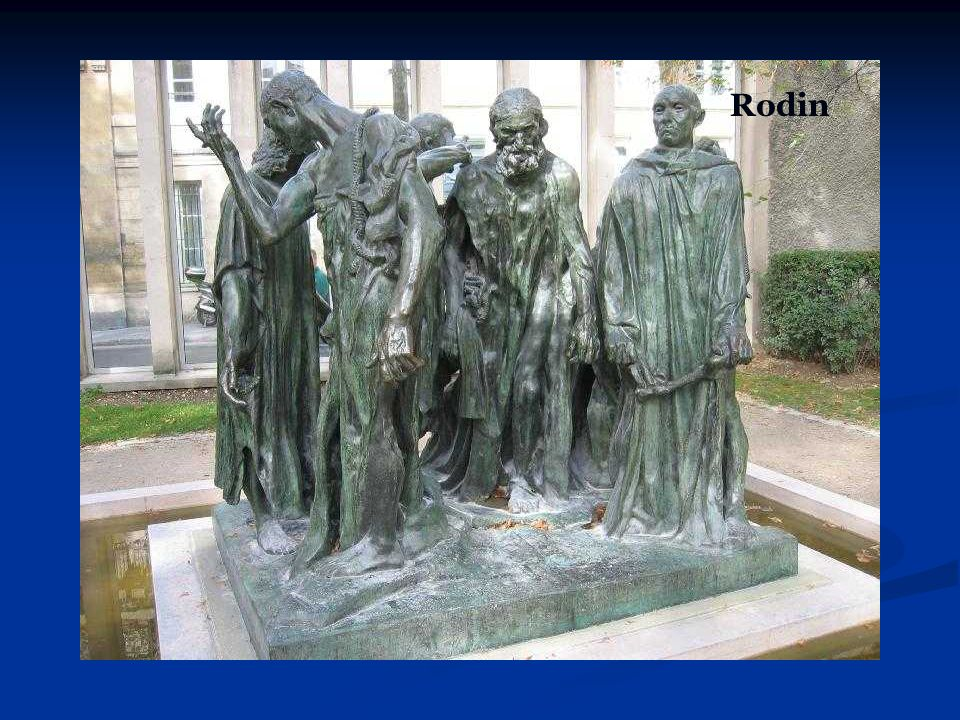 Rodin The sculptor represents the transition from one pose to another.