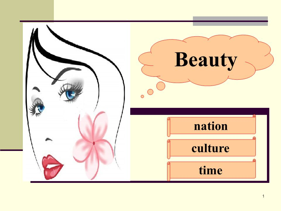 1 Beauty nation culture time