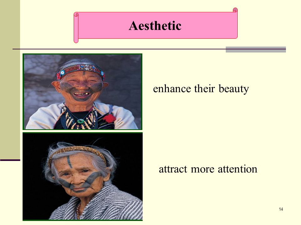 14 enhance their beauty attract more attention Aesthetic