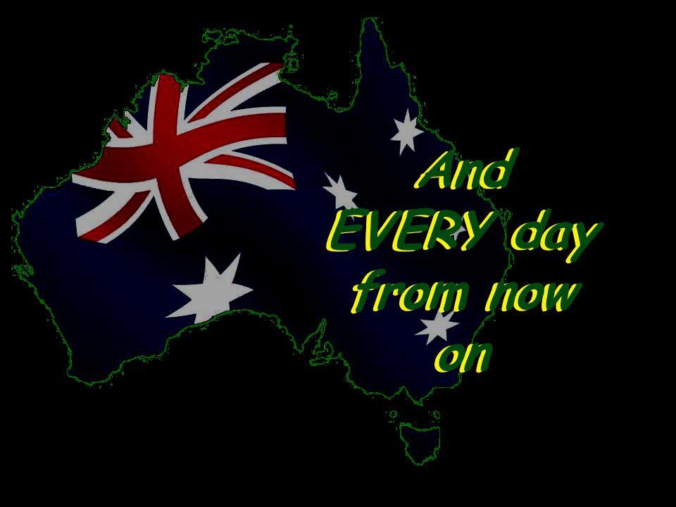 This Australia Day …