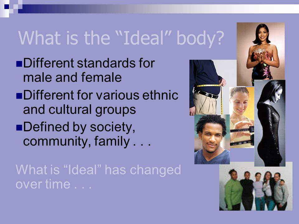 What is the Ideal body.