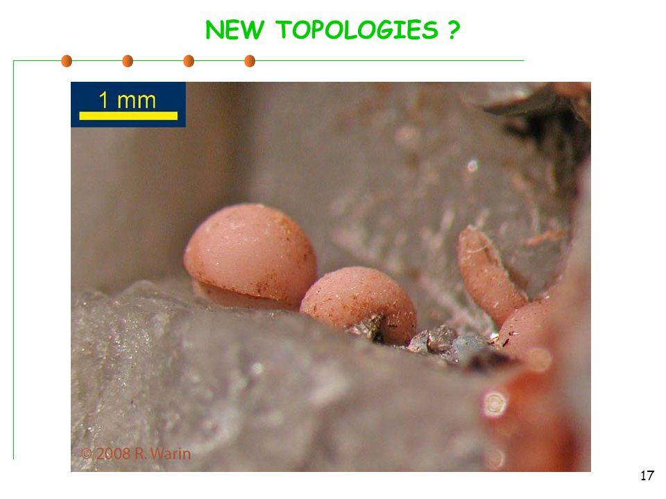 NEW TOPOLOGIES 17