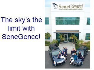 The skys the limit with SeneGence!