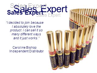 Sales Expert I decided to join because I absolutely love the product. I can sell it so many different ways and it just works. Caroline Bishop Independ