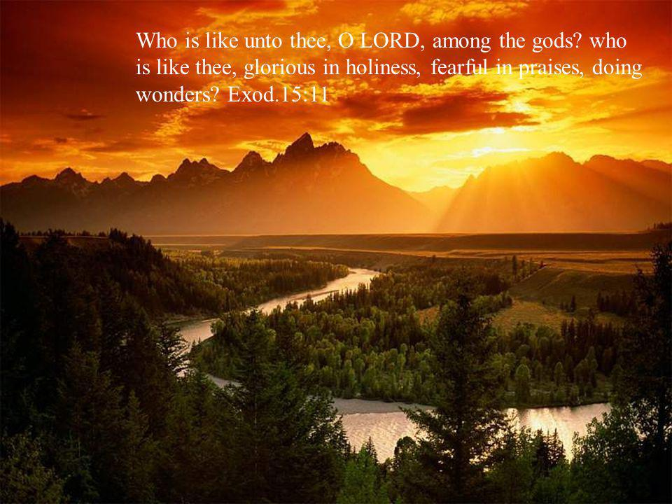Come and see the works of God: he is terrible in his doing toward the children of men. Psalm 66:5