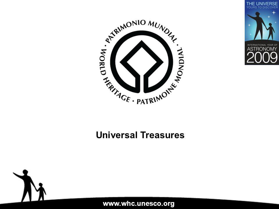 www.whc.unesco.org Universal Treasures