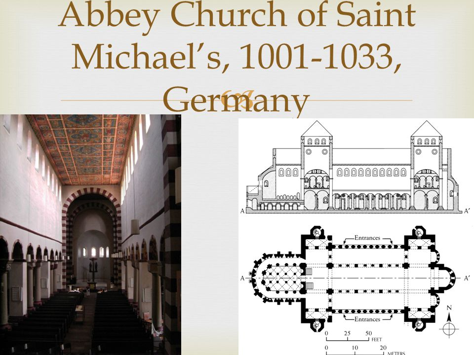 Abbey Church of Saint Michaels, 1001-1033, Germany