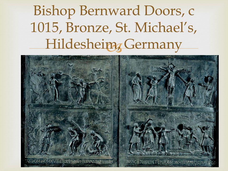 Bishop Bernward Doors, c 1015, Bronze, St. Michaels, Hildesheim, Germany
