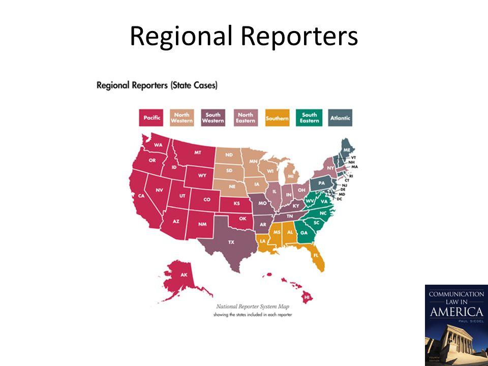 Regional Reporters