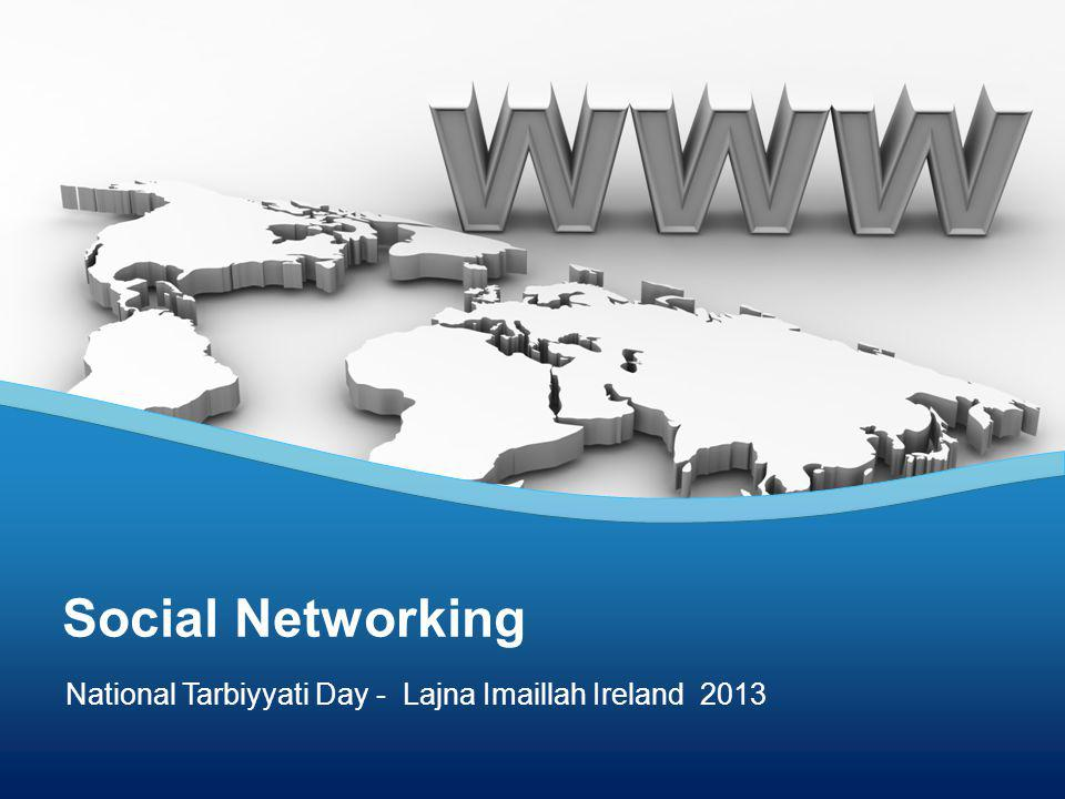 National Tarbiyyati Day - Lajna Imaillah Ireland 2013 Social Networking