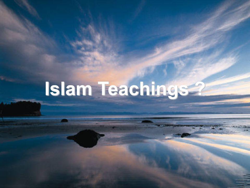 Islam Teachings