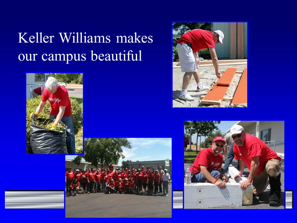 Keller Williams makes our campus beautiful