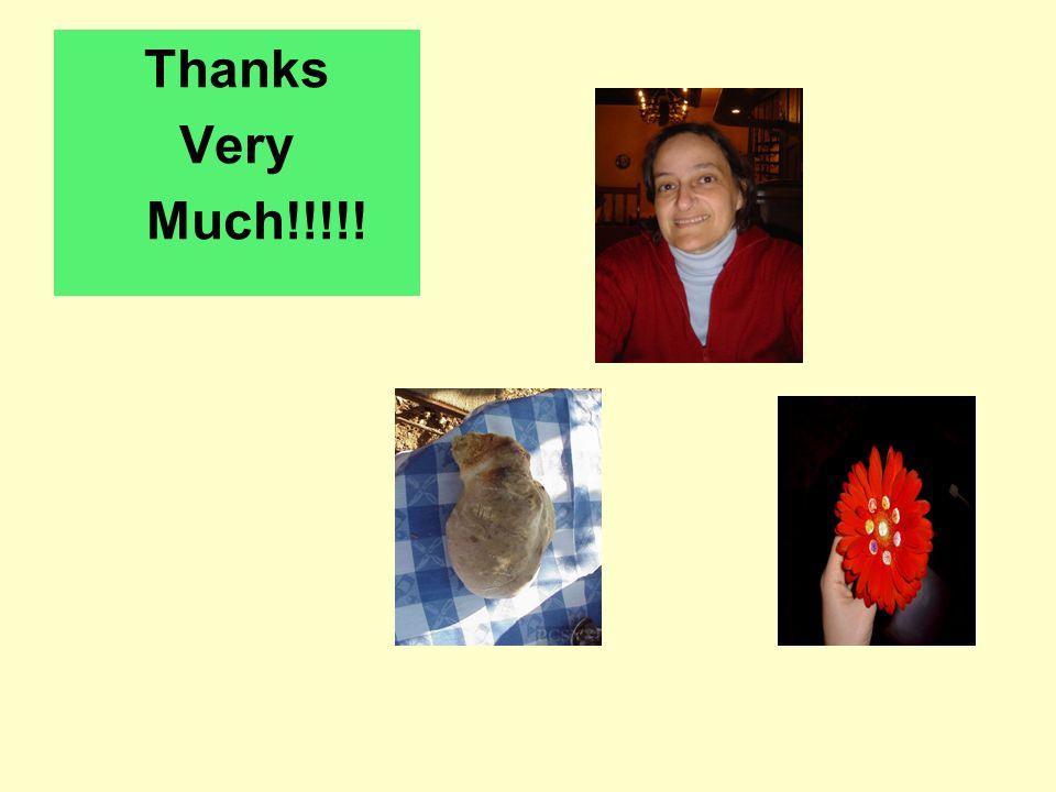 Thanks Very Much!!!!!