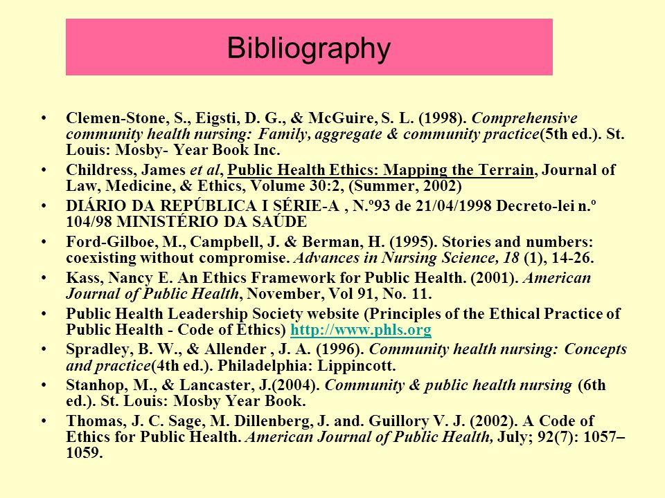 Bibliography Clemen-Stone, S., Eigsti, D. G., & McGuire, S.