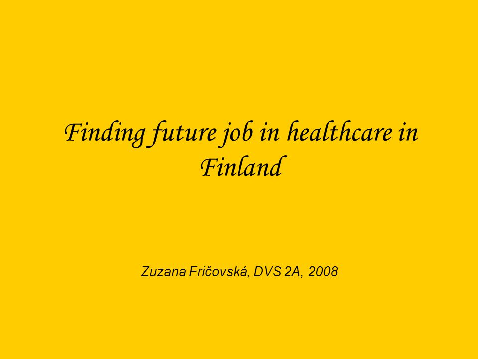 The university in Kemi 1 goup = 20 students They have 120 places a year Situation is very good after graduating Everybody finds a job It is a real motivation to be nurse in Finland An offering job in Sweden and Norway - high sallaries
