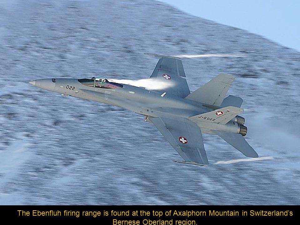 The Swiss Air Forces Axalp Air Power Demonstration held annually, is not just an air show; it is an experience at 7614 feet (2321m).