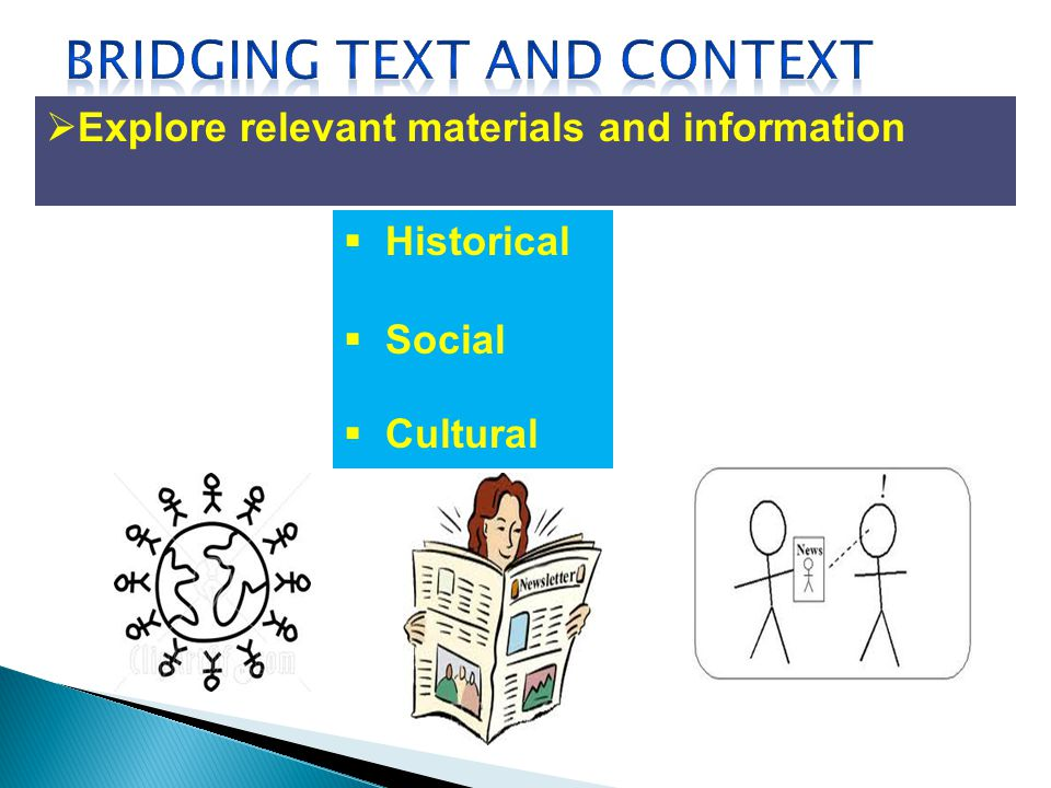 Explore relevant materials and information Historical Social Cultural